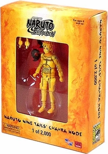 Naruto Shippuden 2012 SDCC San Diego Comic Con Exclusive Action Figure Naruto Nine Tails Chakra Mode Only 2,000 Made!