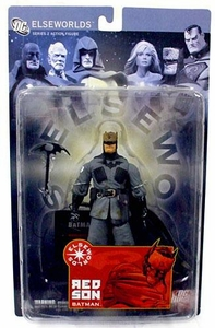 DC Direct Elseworlds Series 2 Action Figure Red Son Batman