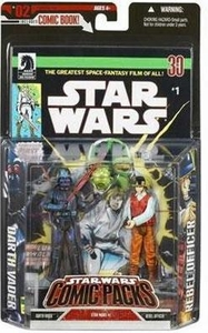 Star Wars Expanded Universe Action Figure 2-Pack Darth Vader & Rebel Fleet Trooper