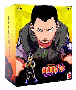 Naruto Mattel 3 Inch PVC Tree Diorama Series 1 Single Figure Shikamaru [#3 of 10]