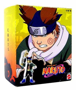 Naruto Mattel 3 Inch PVC Tree Diorama Series 1 Single Figure Choji [#4 of 10]