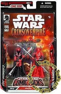 Star Wars Expanded Universe EXCLUSIVE Japanese Action Figure 2-Pack Carnor Jax & Kir Kanos [Imported With Dark Visors]