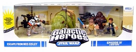 Star Wars Galactic Heroes Deluxe Cinema Scene Mini Figure Multi Pack Escape From Mos Eisley