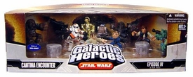 Star Wars Galactic Heroes Deluxe Cinema Scene Mini Figure Multi Pack Cantina Encounter