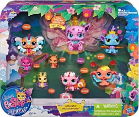 Littlest Pet Shop Enchanted Fairies Figure 8-Pack Majestic Masquerade