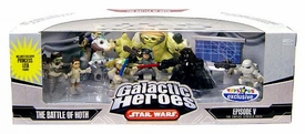 Star Wars Galactic Heroes Deluxe Cinema Scene Mini Figure Multi Pack Battle of Hoth