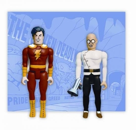 DC Direct Pocket Super Heroes Captain Marvel & Dr. Sivana