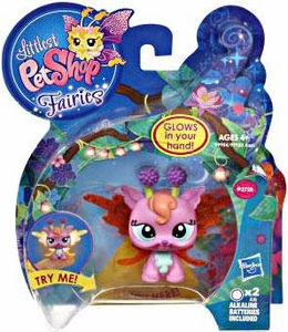 Littlest Pet Shop Fairies Light Up Figure Lotus Lily Fairy