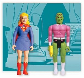 DC Direct Pocket Super Heroes Silver Age Supergirl & Brainiac