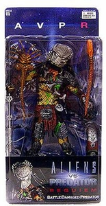 Alien VS. Predator: Requiem NECA Action Figure Series 4 Battle Damaged Masked Predator