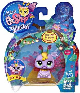 Littlest Pet Shop Fairies Light Up Figure Lilac Fairy
