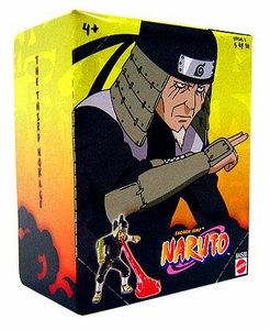 Naruto Mattel 3 Inch PVC Tree Diorama Series 2 Single Figure Third Hokage [#5 of 10]