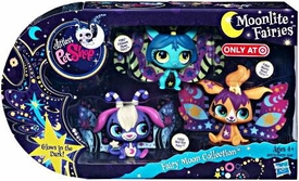 Littlest Pet Shop Moonlite Fairies Exclusive 3-Pack Fairy Moon Collection [Star Ray, Crescent & Starry]