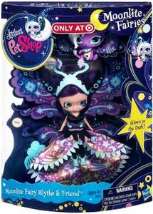 Littlest Pet Shop Moonlite FairiesExclusive 2-Pack Moonlite Fairy Blythe & Friend