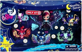 Littlest Pet Shop Moonlite Fairies Exclusive 6-Pack Twinkling Friends Collection
