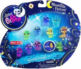 Littlest Pet Shop Moonlite Fairies Exclusive 10-Pack Moondust Friends