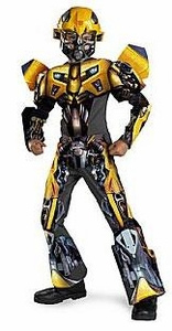 Disguise Costume Transformers: Revenge of the Fallen #50567 Bumblebee Movie 3-D Deluxe [Child]