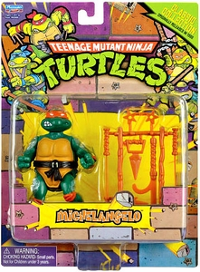 Teenage Mutant Ninja Turtles 2013 Retro Collection 4 Inch Action Figure Michelangelo