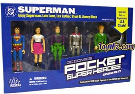 DC Direct Pocket Super Heroes Superman Box Set