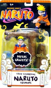 Naruto Mattel Training Deluxe Action Figure Tree Climbing Naruto