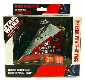 Star Wars Wizkids Pocketmodel Trading Card Game Exclusive Imperial Star Destroyer Power-Up Pack