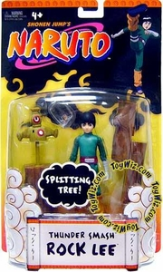 Naruto Mattel Training Deluxe Action Figure Thunder Smash (Dragon Strength) Rock Lee BLOWOUT SALE!