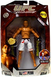 UFC Jakks Pacific Series 3 Deluxe Action Figure BJ Penn