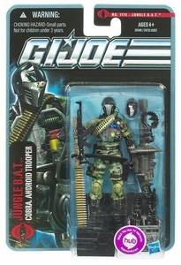 GI Joe Pursuit of Cobra 3 3/4 Inch Action Figure Jungle BAT [Cobra Android Trooper]