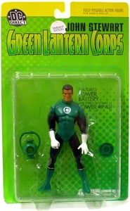 DC Direct Green Lantern Corps Action Figure John Stewart Variant