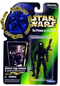 Star Wars POTF2 Power of the Force Color Photo Card Death Star Gunner