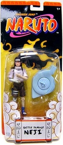 Naruto Mattel Battling Basic Action Figure Battle Damage Neji