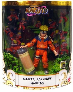 Naruto Mattel SDCC Exclusive Action Figure Ninja Academy Battle Damaged Naruto [Rare BLOODY Variant!]