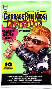 Topps Garbage Pail Kids Flashback Trading Card Stickers Pack