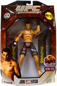 UFC Jakks Pacific Series 3 Deluxe Action Figure Jon Fitch BLOWOUT SALE!
