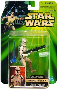 Star Wars Power Of The Jedi Attack of the Clones Sneak Preview Clone Trooper
