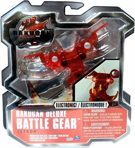 Bakugan Deluxe Electronic Battle Gear Pyrus [Red] JetKor Adds 120 G!