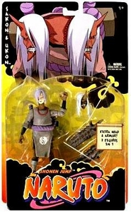 Naruto Mattel Training Deluxe Level 2 Curse Seal Mark Action Figure Sakon & Ukon [Extra Head & Armor]