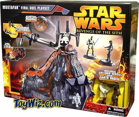 Star Wars Episode 3 Revenge of the Sith Mustafar Final Duel Playset