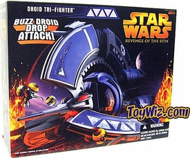 Star Wars E3 Revenge of the Sith Vehicle Droid Tri-Fighter