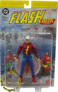 DC Direct JSA Action Figure Golden Age Flash Rare!