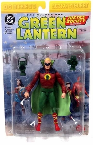 DC Direct JSA Action Figure Golden Age Green Lantern Alan Scott