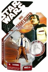 Star Wars 30th Anniversary Saga 2007 Action Figure Wave 3 #17 Biggs Darklighter [Imperial Academy]