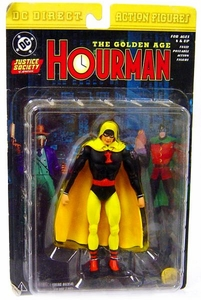 DC Direct JSA Action Figure Golden Age Hourman Damaged Package, Mint Contents!