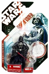 Star Wars 30th Anniversary Saga 2007 Action Figure Wave 3 #16 Darth Vader [Obi-Wan Duel]