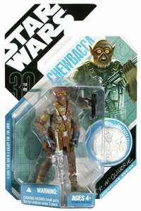 Star Wars 30th Anniversary Saga 2007 Action Figure Wave 3 #21 Chewbacca [McQuarrie Concept]