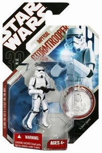 Star Wars 30th Anniversary Saga 2007 Action Figure Wave 3 #20 Imperial Stormtrooper [Removeable Helmet]