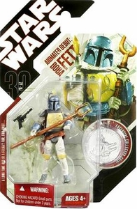 Star Wars 30th Anniversary Saga 2007 Action Figure Wave 4 #24 Animated Debut Boba Fett [1977 Holiday Special]