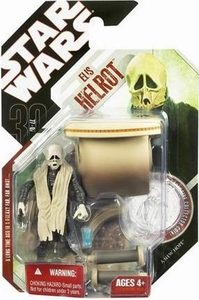 Star Wars 30th Anniversary Saga 2007 Action Figure Wave 4 #23 Elis Helrot [Cantina Alien]