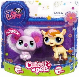 Littlest Pet Shop Cutest Pets Figures Koala & Camel