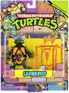Teenage Mutant Ninja Turtles Retro 4 Inch Action Figure Leonardo